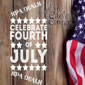 July 4th Spa Deal At Spa At Cibolo Canyon